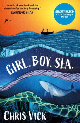 Girl. Boy. Sea. by Chris Vick | 9781789541380