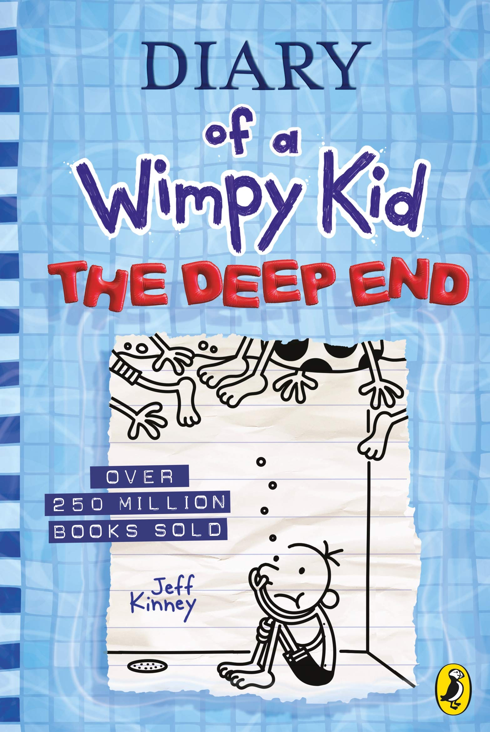 Diary of a Wimpy Kid: The Deep End (Book 15) – Diary of a Wimpy Kid by Jeff Kinney | 9780241396643
