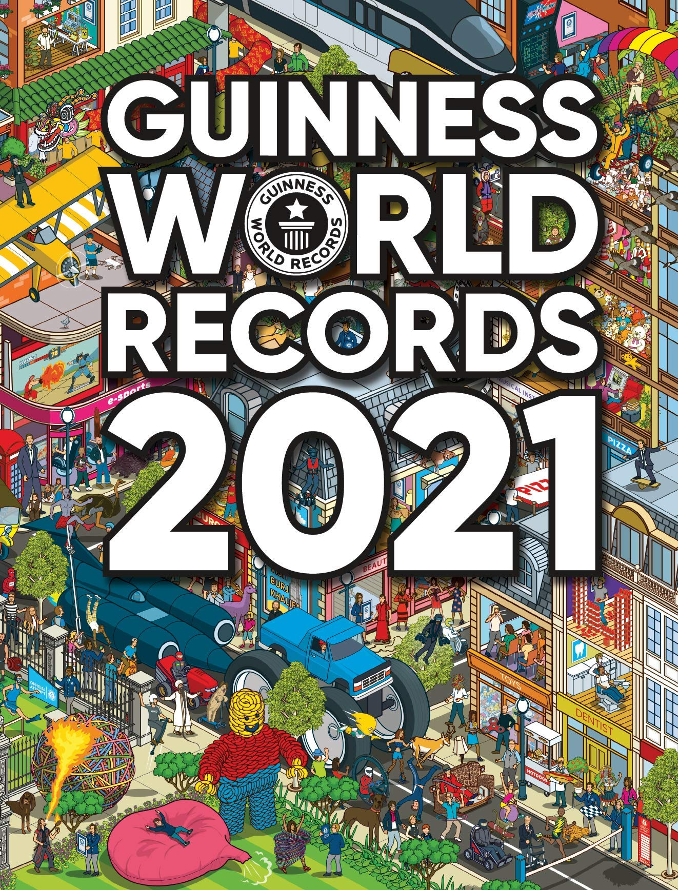 Guinness World Records 2021 by Guinness World Records | 9781913484019