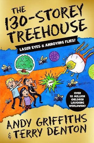 The 130-Storey Treehouse by Andy Griffiths | 9781529045932