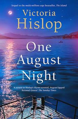 One August Night by Victoria Hislop | 9781472278449